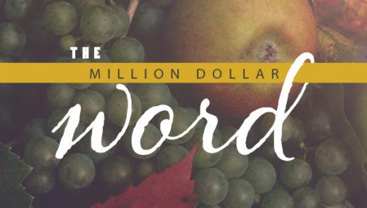 The Million Dollar Word