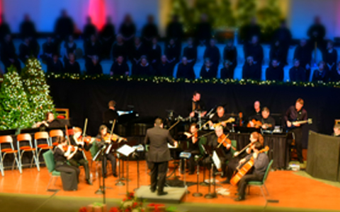 Our Worship Orchestra along with our guests from Knoxville Symphony Orchestra