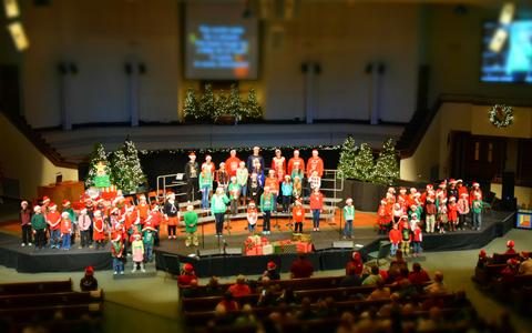 Elevate Student Choir and Kids Worship Choir