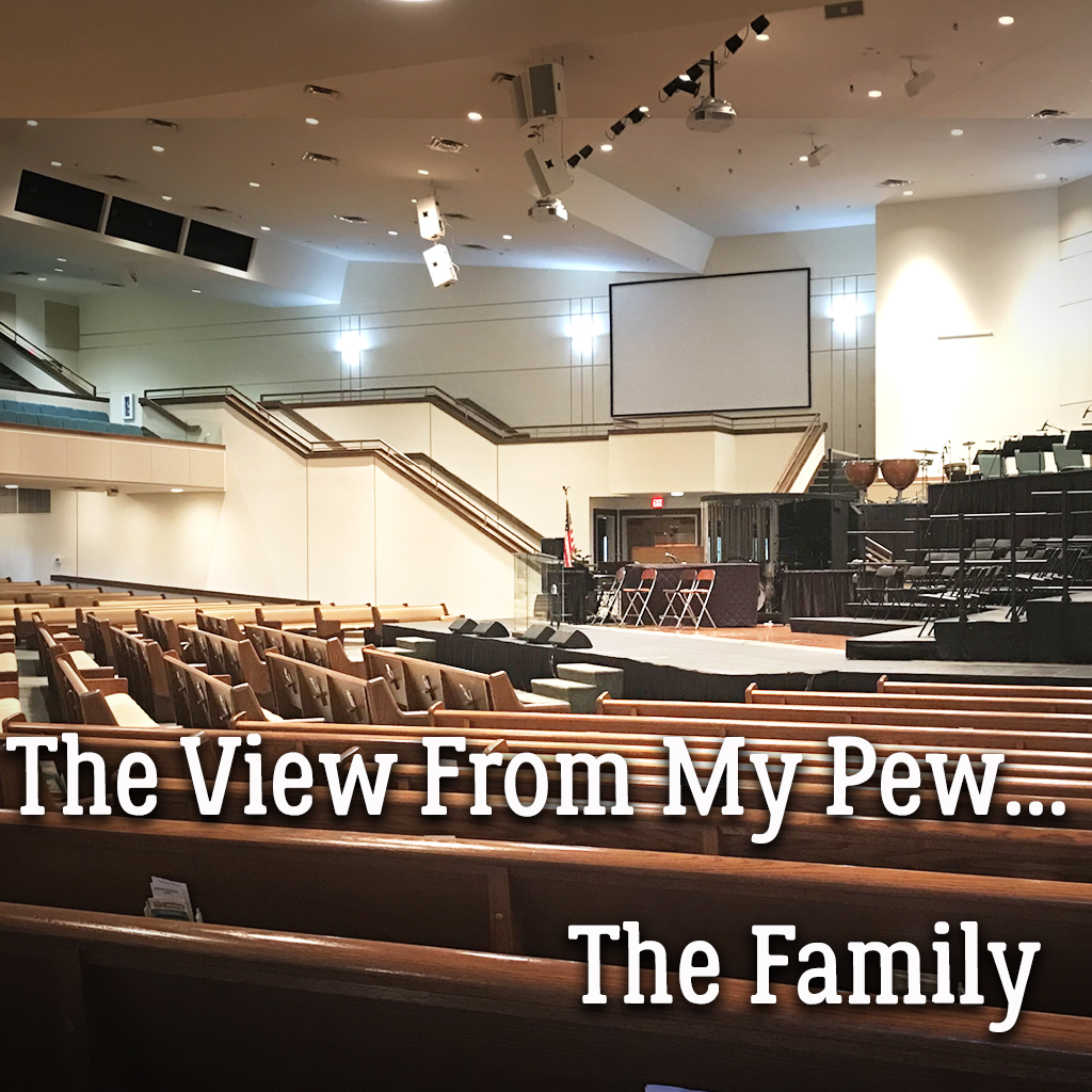 The View From My Pew...Family